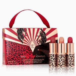 $25($64 value)Charlotte Tilbury Mini Hot Lips Charms