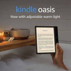预售开始!无利分期支付!上新:Kindle Oasis 英亚全新发售 暖光阅读 音乐作伴