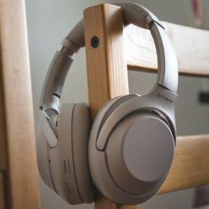 $348(原价$448)Sony 1000XM3 无线头戴式降噪耳机 双色可选