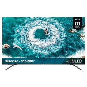 $399.99 (原价$499.99)Hisense 55H8F 55吋 4K 超高清 HDR 安卓智能电视