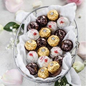 £12收圣诞日历 £7收32颗礼盒Amazon 精选Ferrero Rocher 巧克力礼盒、圣诞日历热卖中