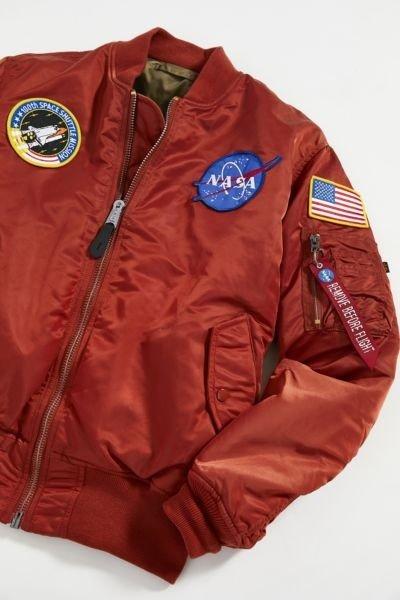 Alpha Industries MA-1 NASA 飞行员夹克 多色