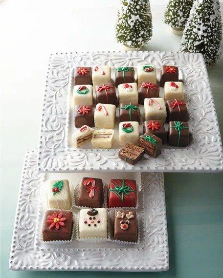 圣诞节小蛋糕