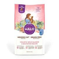 Halo控制体重三文鱼口味猫粮 10 lbs