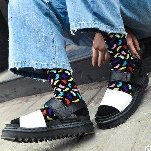 $120.00(原价$159) 夏季百搭Dr Martens 马丁VOSS系列轻量厚底凉鞋