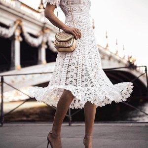 低至5折 $249收网红吊带裙Self-Portrait 美衣热卖 做个精致的小仙女