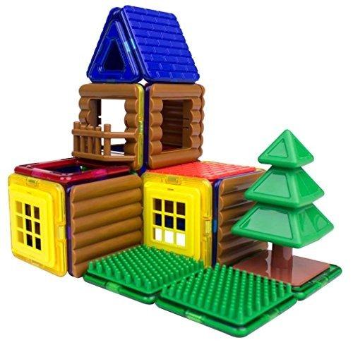 小木屋搭建48片