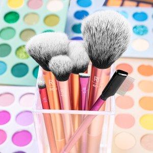 低至6.4折 €13.5收刷具5件套Prime Day 狂欢价:Real Techniques 专业彩妆刷具 毛质柔软易取粉