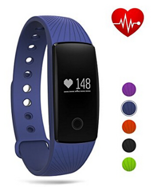 $11.49GBlife Fitness Tracker Watch,Heart Rate Monitor Bluetooth Smart Wristband Sport Bracelet