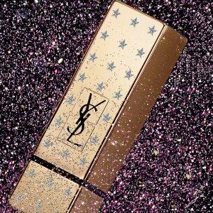 至高送$600礼卡+送正装口红即将截止:YSL 美妆产品热卖 收小金条、小银条新色