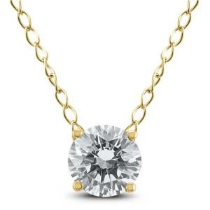 $188+免邮独家:Szul.com 精选1/3 克拉钻石项链促销