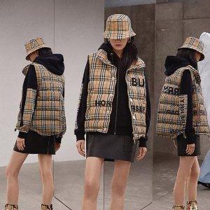 低至3折 斜挎包$319Burberry 时尚专场,收格子衬衣、羊绒围巾,法式风衣