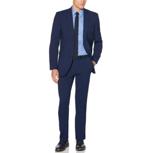 Perry Ellis2 Piece Bright Blue Suit