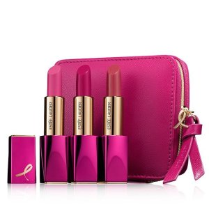 $35 + Free GiftsEstee Lauder Pink Perfection 3-Piece Lipstick Set
