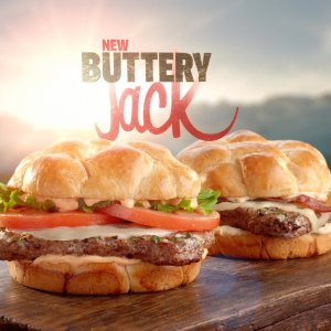 BOGOButtery Jack Burgers @Jack in the Box Restaurant