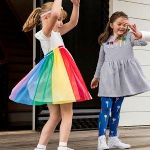 连衣裙7折 打底袜$15Hanna Andersson 女童服饰促销 超美春夏新款上市