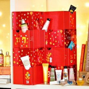 L'Occitane价值$198豪华版圣诞倒数日历