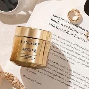 最高送价值$278好礼Lancôme美妆护肤产品热卖 菁纯面霜变相7.3折