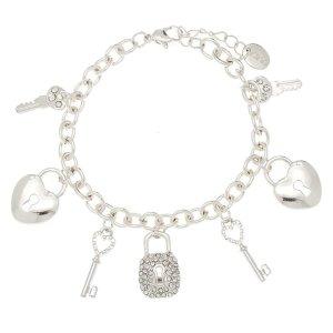 Silver Love Story Charm Bracelet