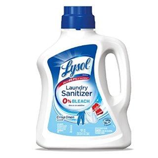 $6.14Lysol Laundry Sanitizer Additive, Crisp Linen, 90oz