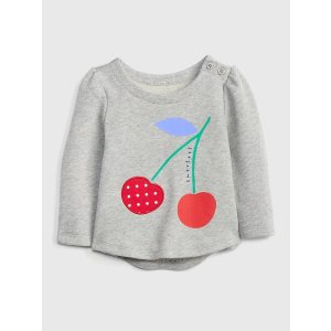 GapCherry Crewneck Sweatshirt