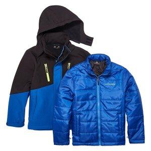 e83c2018b WeatherproofFORYOU67Systems 3-in-1 Jacket - Boys Preschool
