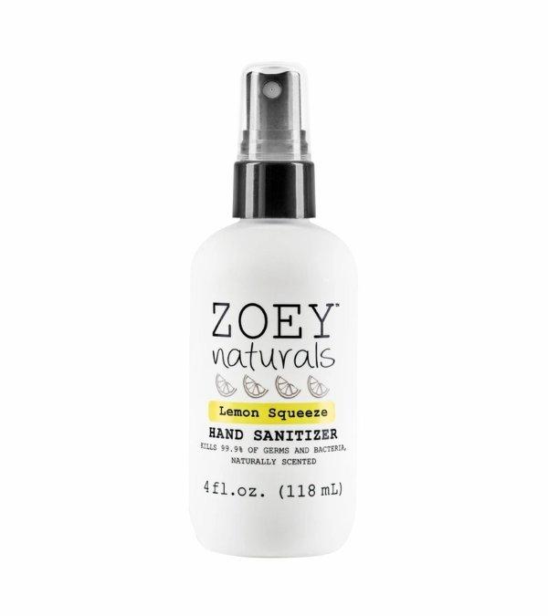 Zoey Naturals 免洗洗手液