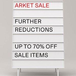全场3折起+额外8.5折 经典西装外套£34折扣升级:Arket 私密季中折扣悄悄上线 春夏新品都参加 中性风爱好者天堂