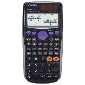 $12.99(原价$18) 还有粉色版卡西欧 FX300ES Plus 科学计算器 学习路上 他一直在你身边