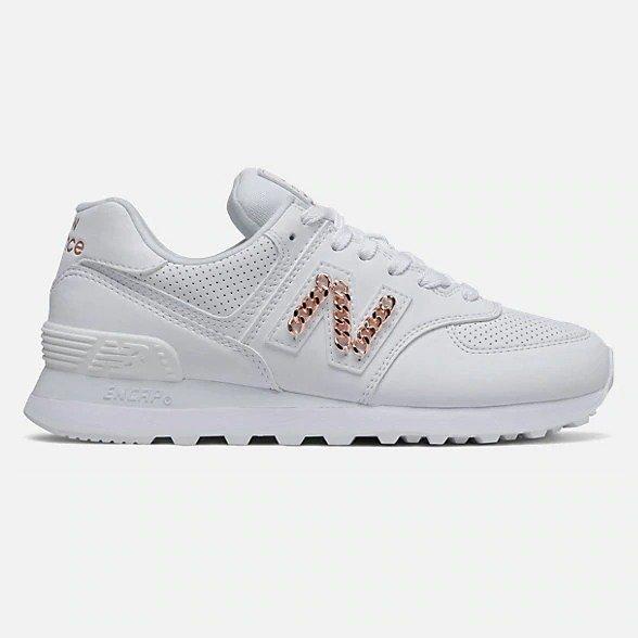 574 白色运动鞋