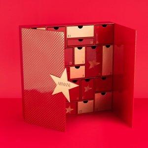 7折+包邮+立省€90Armani 阿玛尼2019圣诞美妆日历打折啦 含正装红管唇釉