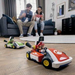 折后€82.99起 安全又刺激惊喜补货:《马里奥赛车 Live》AR赛车游戏热促 在家就能跑赛道