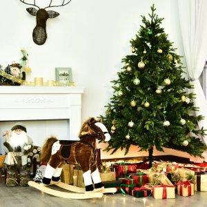 低至4.5折 摇摇椅$41起圣诞礼物:儿童摇摇马热卖 宝宝都喜爱的玩具 可帮助协调平衡力