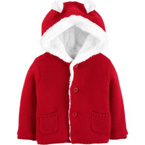 Carter'sSherpa-Lined Cardigan