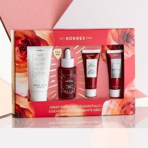 33% OffKorres Natural Greek Brightening Essentials Gift Set