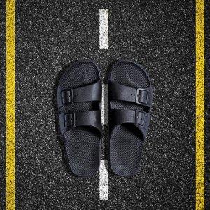 $17(原价$41.96)Freedom Moses 儿童凉鞋热卖 居家轻便 时尚沙滩鞋