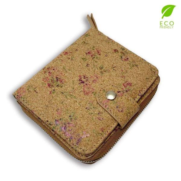 软木材质手工钱包-CKW1