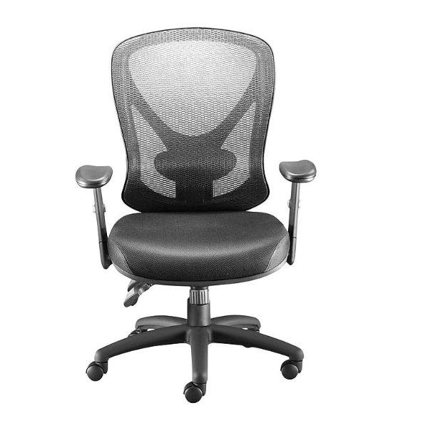 网眼靠背办公椅 黑色