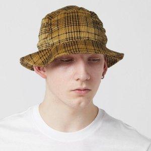 3.7折起 £10收封面格纹渔夫帽size?官网 配饰专区 收Kangol棒球帽、Stussy、New era渔夫帽