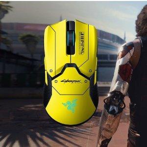 $199.99(原价$234.99)Razer x Cyberpunk 2077 Viper 终极版 无线鼠标 配充电底座