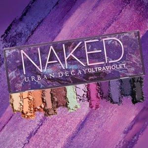 Urban Decay温柔紫是夏天的味道!新款 Naked Ultra Violet紫色眼影盘