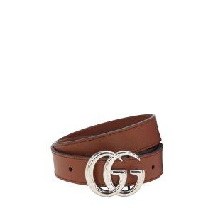 Gucci50/60/70cm 成人款$615双G 卡其腰带
