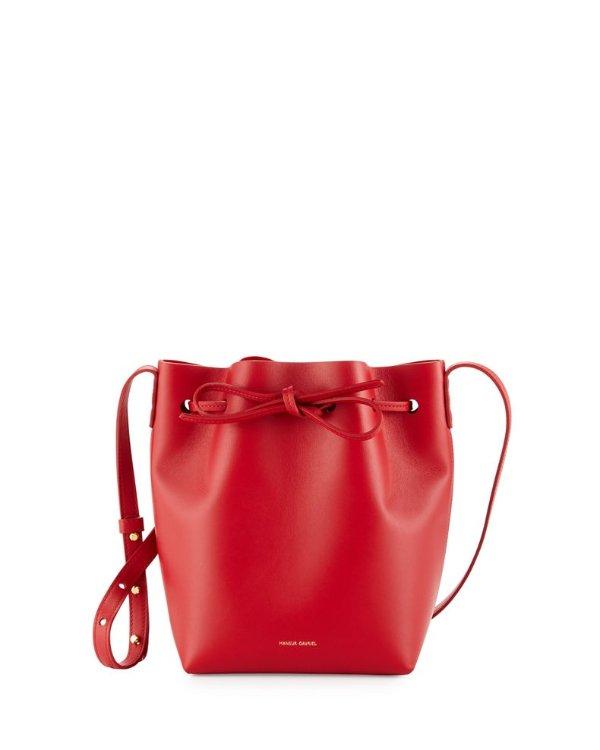 Calf Leather Mini Mini 水桶包