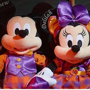 8折闪促! 新上亮灯项链迪士尼官网 万圣节新品上市 收限量米奇米妮玩偶