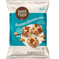 Rare Fare Foods 原味杏仁方块, 2oz 10块