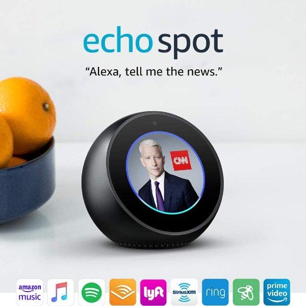 Echo Spot 可视化智能语音助手