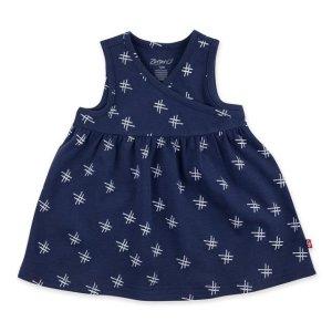 Zutano宝宝有机棉连衣裙