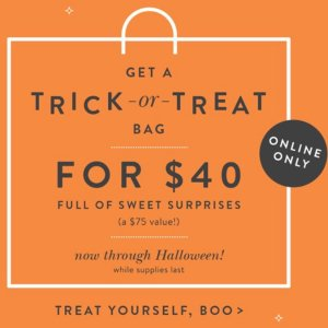 $40TRICK-OR-TREAT MYSTERY BAG