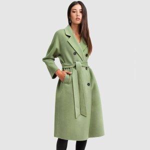 低至5折 封面牛油果大衣$200Belle & Bloom 早春羊毛大衣热卖中 平价 Max Mara