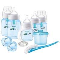Philips Avent 防胀气奶瓶、奶瓶刷、奶嘴套装